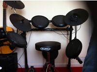 Fully loaded electronic drum kit