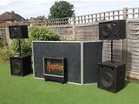 JBL Speakers and H&H Amp