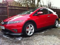 Honda Civic Type S 3 door - red manual
