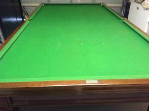 "Full sized 12""6' x 6""8' Billiard table Caringbah Sutherland Area Preview"