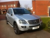 2008 MERCEDES BENZ ML 280 LIMITED EDITION 10 - 68k silver HPI clear Extras - MOTd & Taxed £13195 ono