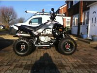 dinli 450 quad bike 2000 miles mint condition £3.000/ 8 months mot