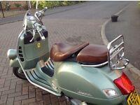 Vespa gtv 125 cc 08 reg