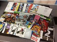 Instruction booklets for all games consoles