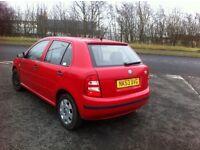 Skoda Fabia 1.2 nice little car 6 month mot bargain £375