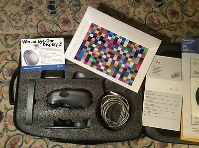i1 Pro Rev. D Spectrophotometer EOBASIC kit with professional case x-rite