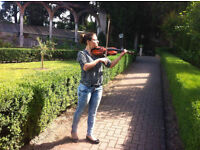VIOLIN TEACHER AT YOUR HOME