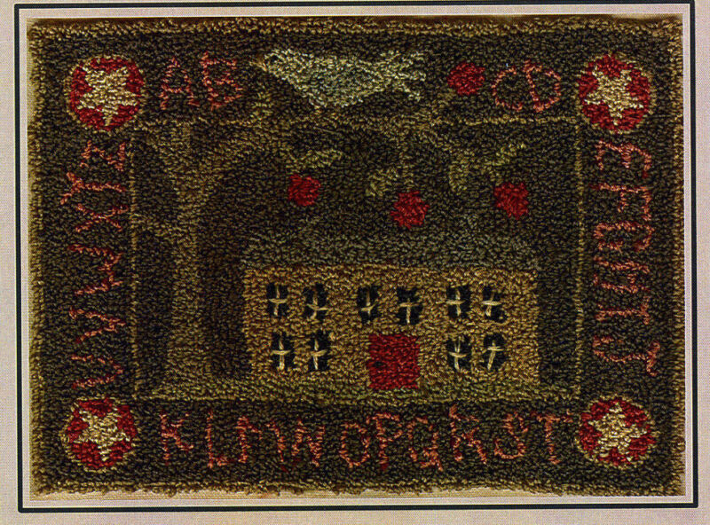 The Apple Orchard Punchneedle Embroidery Pattern Punch Needle Sampler