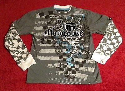 Mongoose Long Sleeve Boy's T-shirt Size L