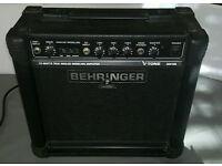 Behringer V-Tone GM108 15 watt practice amp