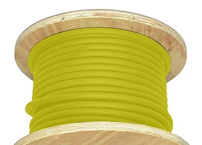 100 20 Awg Welding Cable Yellow Flexible Outdoor Wire Durable New