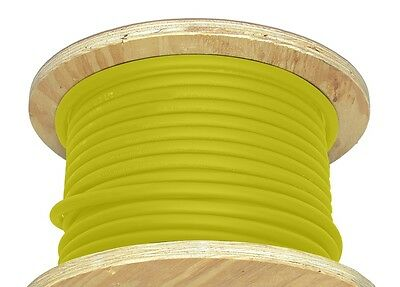 50 20 Awg Welding Cable Yellow Flexible Outdoor Wire