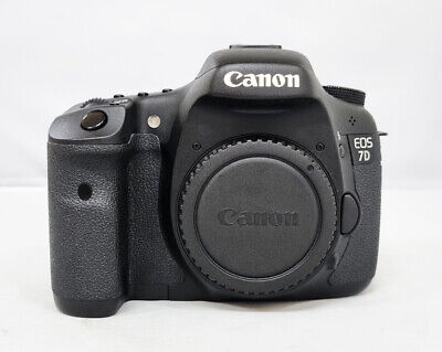 # Canon EOS 7D 18.0 MP Digital SLR Camera - Black (Body Only)-11k cut (s/n 0078)