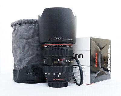 Canon EF 24-70mm 24-70 f/2.8L USM -MINT-