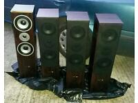 Set of speakers hyundai multi cav +amplifier