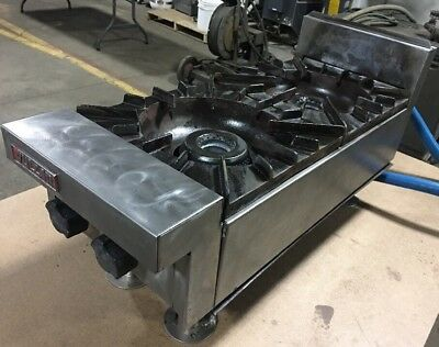 Vulcan Commercial Restaurant Natural Gas 12 2 Burner Countertop Range Our 2