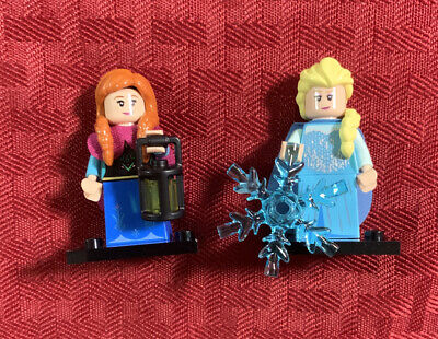 LEGO Disney Minifigures Series 2 FROZEN Elsa and Anna COMBINED SHIPPING