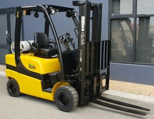 Yale 2000kg LPG Forklift with 4775mm Three Stage Container Mast Malaga Swan Area Preview