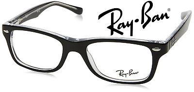 Ray Ban Brillengestelle Brillenfassung 1530 3529 Black Wayfarer 48mm ORIGINAL!!!