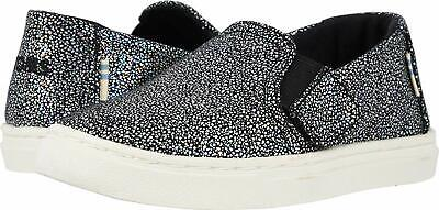 Toms Girl's Toddler Tiny Luca Shoes Black Iridescent Droplets 10013360 Grey