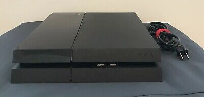 Used Sony PlayStation 4 (PS4) Jet Black Console Model CUH-1001A