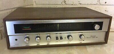 Mid 70`s - Vintage Sansui 210 AM/FM Stereo Tuner Amplifier / Receiver