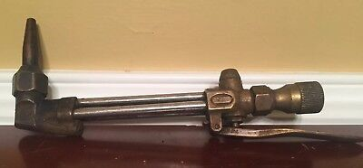 Vintage Harris Cutting Welding Torch Model 72 With Harris 6290 Tip