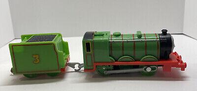 Thomas & Friends Trackmaster motorized train engine Henry #3 tender car 2009