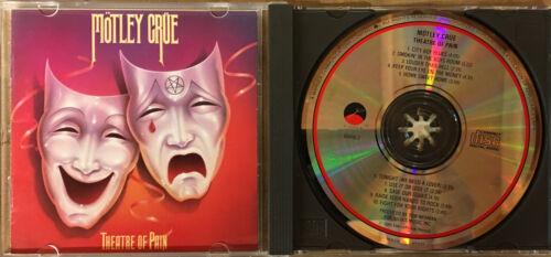 Motley Crue Theatre Of Pain CD Please Read 1985 Elektra - $4.95