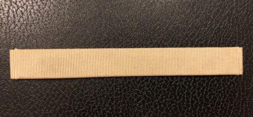 Bracelet pour montre poiray en tissus beige de 15 mm largeur @ strap 130 mm @