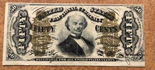 FIFTY Cents U.S. Fractional 3rd ISSUE FR 1339  VF