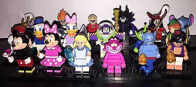 LEGO Minifigures 71012 Disney Series - Complete set of ALL 18 FIGURES!!! No