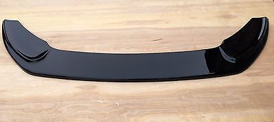 FORD FIESTA MK7.5 ST180 FRONT SPLITTER  (GLOSS BLACK ABS PLASTIC)