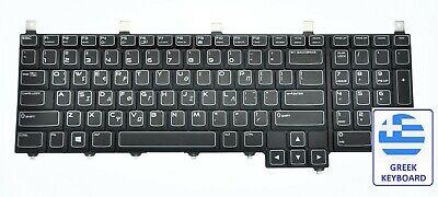 Alienware M17X R4 Greek QWERTY Keyboard JVYVX