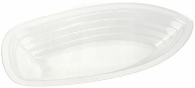 Banana Split Boat 12 oz. Clear Plastic Disposable by MT Products  (15 Pieces)