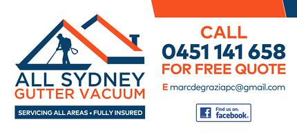 All Sydney Gutter Vacuum