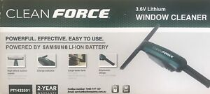 Window Cleaner - Clean Force - 3.6V Lithium Mount Warrigal Shellharbour Area Preview