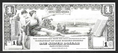 BEP Proof Prints of our Old Classic US Large Size Notes - Set/5