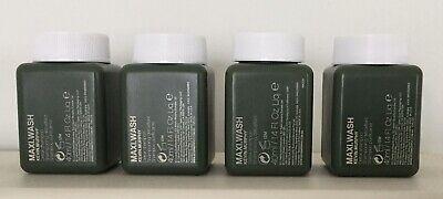KEVIN.MURPHY MAXI.WASH Detox shampoo 40ml x 4 BUNDLE!