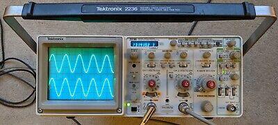 Tektronix 2236 100mhz Oscilloscope Wcountertimerdmm Calibrated