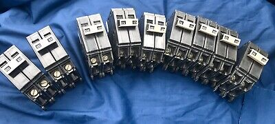 Lot Of Eaton Cutler-hammer Breakers 9 Total 648.55 Value