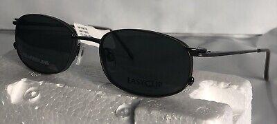 EasyClip N 9039 eyeglasses Gunmetal 15w 52-18-135 w/Polarized  Men's (Polar Eyeglasses)