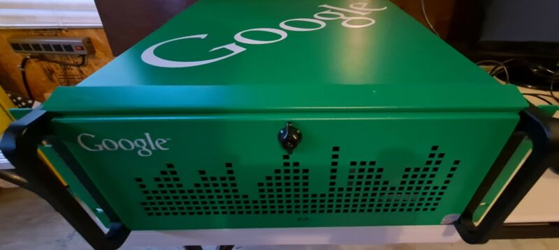 Google Radio Automation PC Rack Mount audio production machine computer green WO