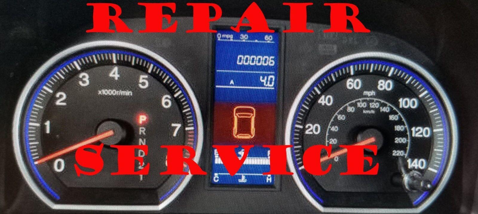 2010 11 Honda CRV SE LX INSTRUMENT CLUSTER SOFTWARE & ODOMETER CALIBRATION SERV