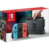 BRAND NEW Nintendo Switch 32GB Console Neon Red Neon Blue Controllers Fast Ship!