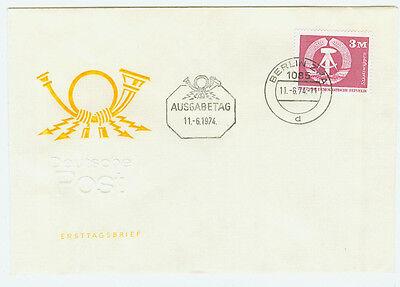 DDR FDC Ersttagsbrief 1974 Freimarken  Mi.Nr. 1967