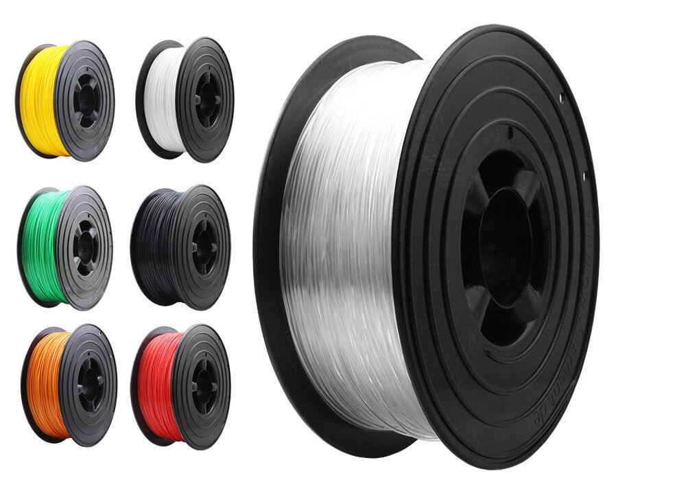 TPU Flexibel 3D Filament 1kg 1000g 1,75mm Spule Rolle 3D Drucker Made in Germany