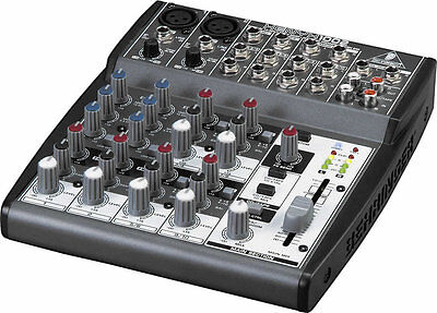 NEW Behringer XENYX 1002 10-Input Mixer Board w/ British EQ, Power Supply includ. Buy it now for 99.99
