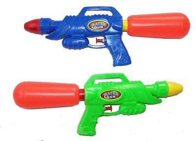 2 pieces BIG 12 INCH OUTERSPACE WATER SQUIRT GUN WITH TANK new squirter POOL FUN