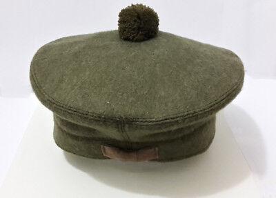 Scottish Tam O Shanter Hat Military Bonnet Beret Balmoral Army Cap Scott's Hat